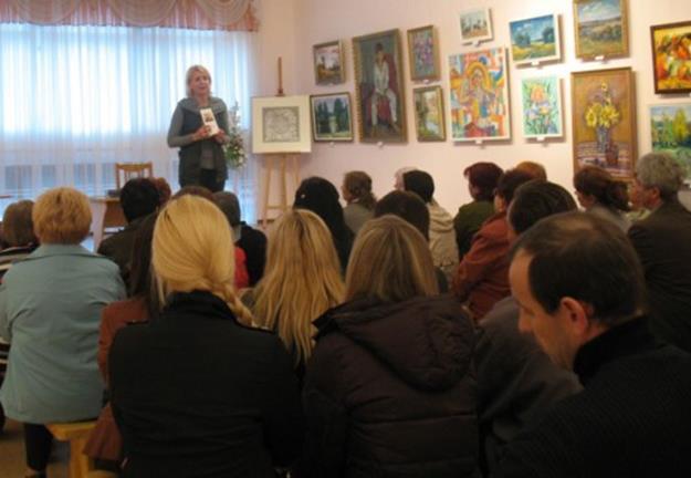 Творческая встреча с поэтом песенником Еленой Лещенко